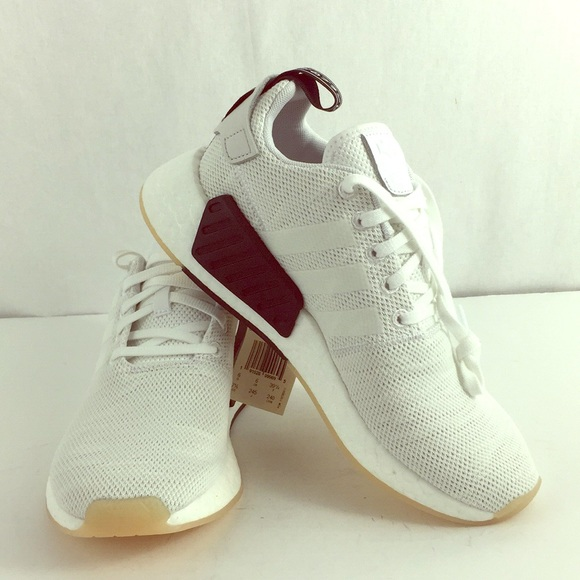 best sneakers afe43 fed13 Adidas NMD_R2 White Athletic Shoe CQ2009 NWT